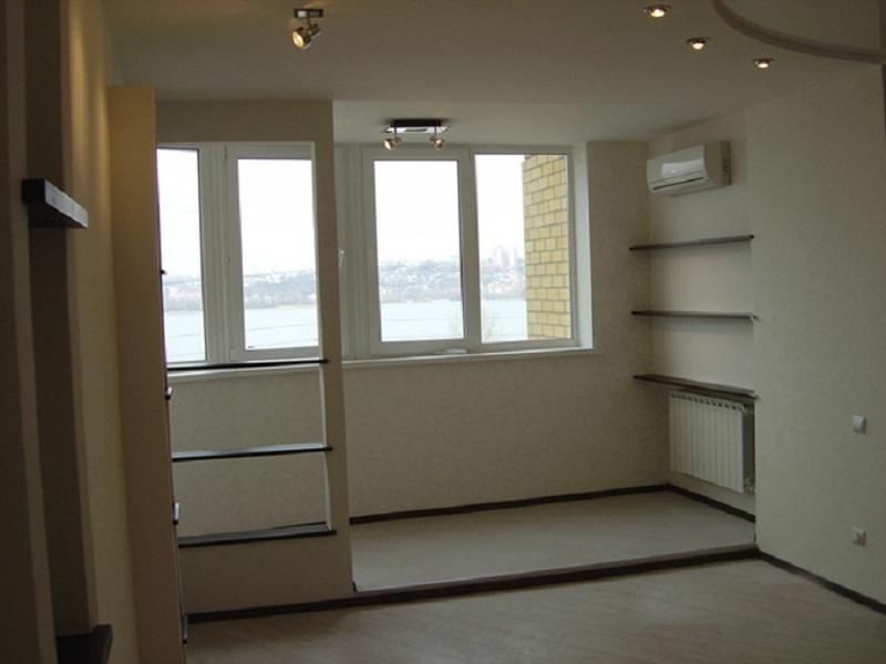 Объединение лоджии (балкона) с комнатой/кухней арт-эксперт.